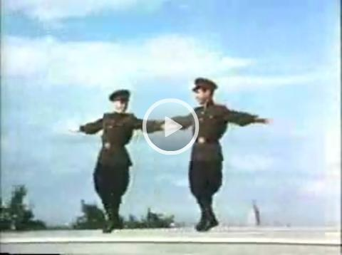 Soviet Army - dance of the soldiers