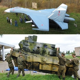 Russia's Mirage Battle Equipment…