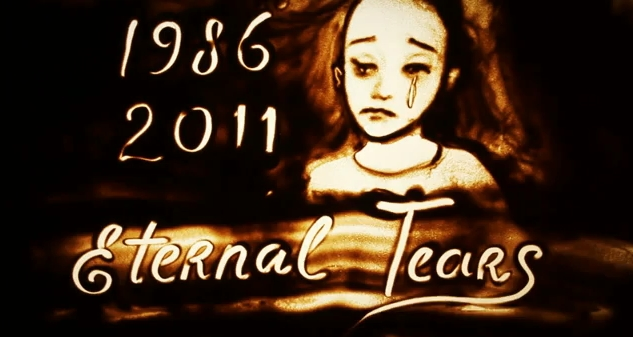 "Ksenia Simonova about Chernobyl disaster ""Eternal tears"" (Video)"