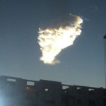 Photo: Natural disaster in Russia (Meteorite crash February, 15 2013)